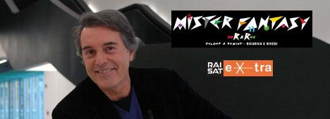 Gli anni '80 rivivono su RaiSat Extra con 'Mister Fantasy' alias Carlo Massarini