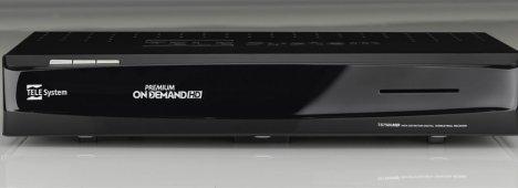 TELESystem TS7500HD, la scheda tecnica del decoder Premium On Demand HD