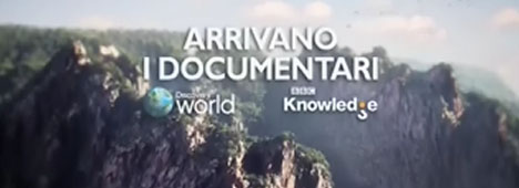 Al via oggi BBC Knowledge e Discovery World, in esclusiva su Mediaset Premium