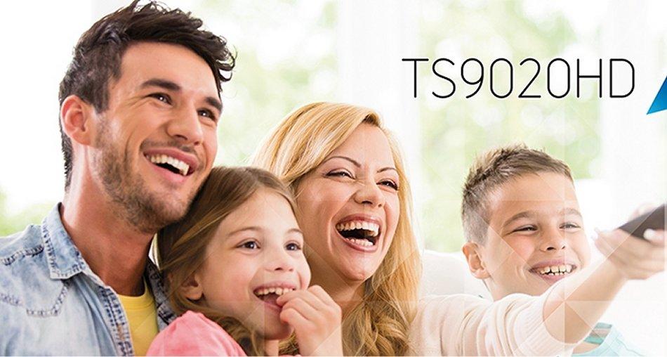 TELESystem TS9020HD tivùsat SmartBox Satellitare HD PVR twin tuner / WiFi