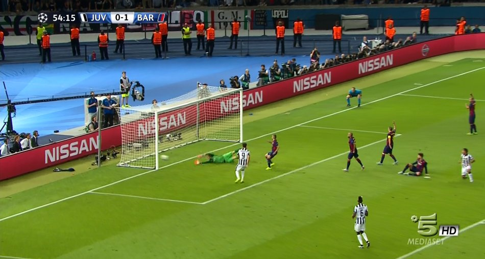 Champions, oltre 13 milioni in tv tra Canale 5 e Sky Sport per Juventus-Barcellona