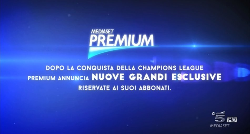Perfezionato accordo Mediaset Premium per i titoli Warner e NBC - Universal