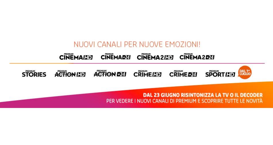 Nascono Premium Cinema 2 HD e Stories, ecco tutte le modifiche alle frequenze Mediaset