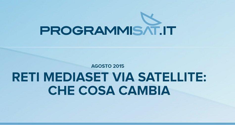 Dal 7 Settembre i canali Mediaset visibili solo con digitale terrestre e TivùSat