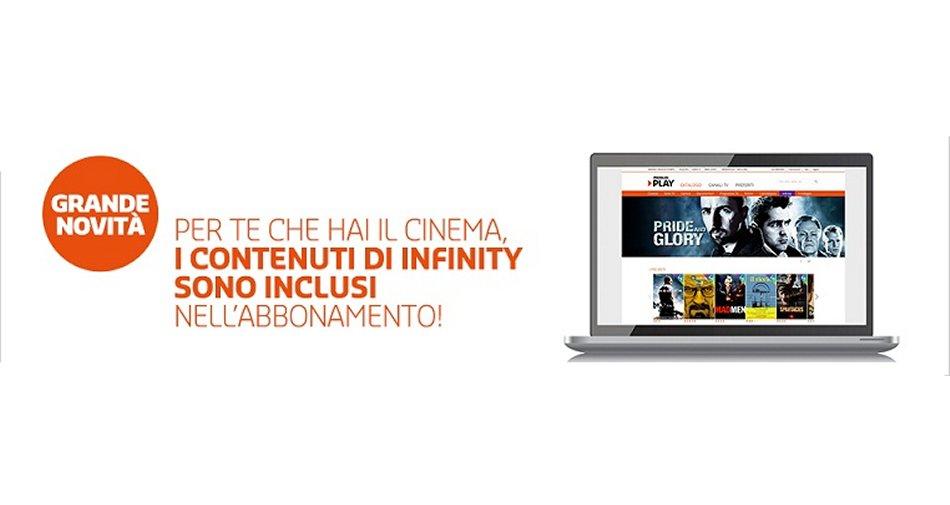 Premium Mediaset, dal 1/9 i contenuti di Infinity inclusi per tutti sul pacchetto Cinema