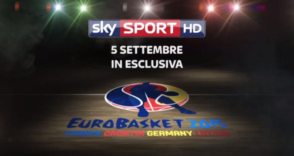 Road to EuroBasket, due speciali su Sky Sport a pochi giorni dallo #SkyEuroBasket