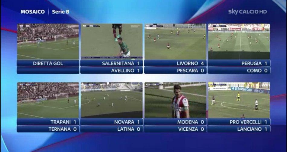 Anticipi e posticipi Sky Sport Serie B 2015/16 dalla 2a alla 7a giornata