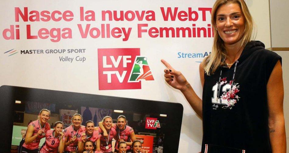 LVF TV, nasce la web tv del volley rosa con la A1 in diretta streaming