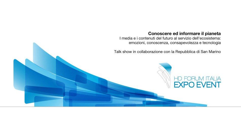 HD Forum 2015, in diretta streaming da Expo il talk show