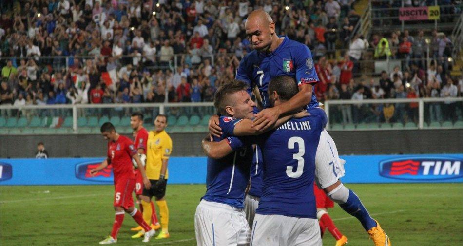 Euro 2016 - Azerbaigian vs Italia , Diretta tv Rai 1 HD e differita Sky Sport Plus HD