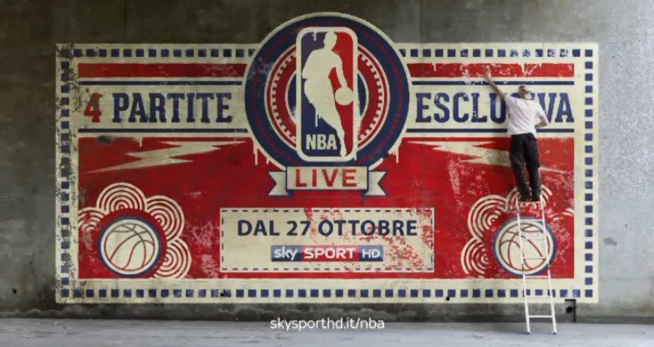 Basket, sua altezza NBA torna in campo in diretta esclusiva solo su Sky Sport HD #SkyNBA