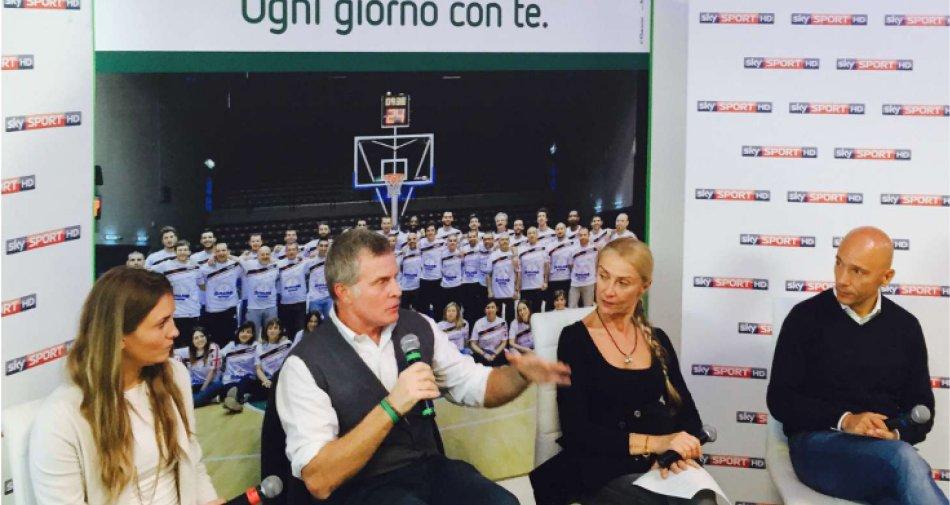 Lo #SkyBasket Road Show arriva a Sassari, la terra dei Campioni d'Italia