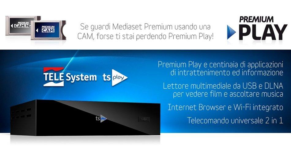 Aggiornamento software decoder Telesystem tsPLAY (Versione 0.38.0.36)