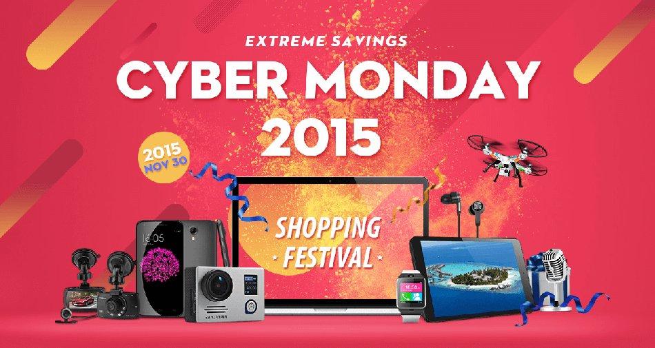 Cyber Monday GearBest 2015, sconti su tanti prodotti di elettronica
