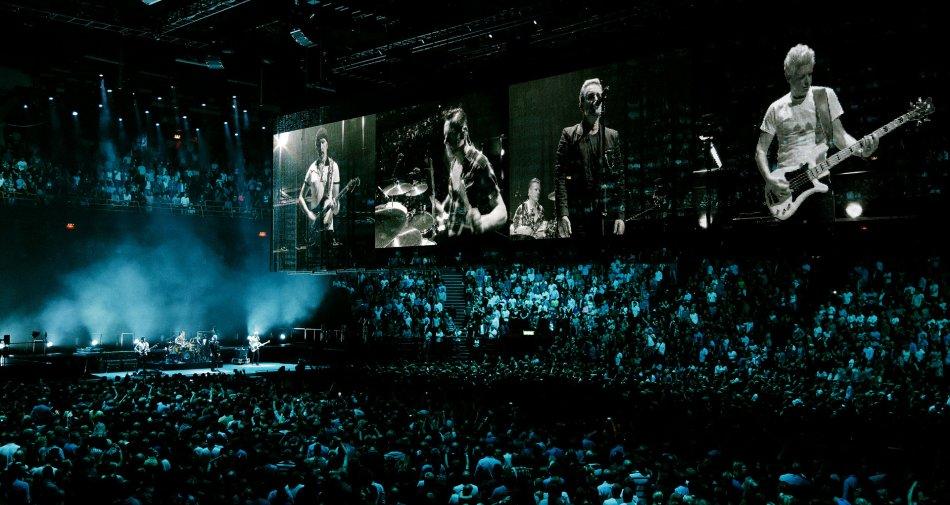 Il concerto di Parigi degli U2 in onda su Sky Uno e poi su Sky Arte