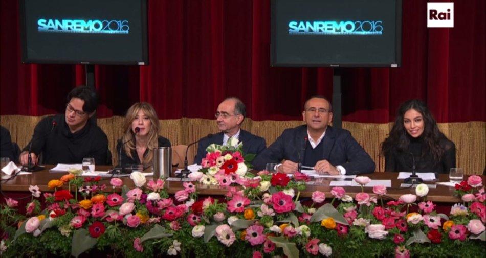 Sanremo, Conti chiama Garko con Virginia e Madalina. Ospiti Pausini, Ramazzotti, Pooh, Zero