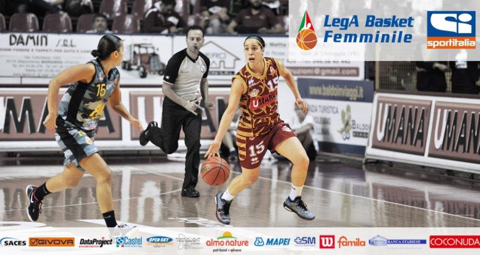 Basket Femminile Serie A1, la Almo Nature Cup sbarca su Sportitalia