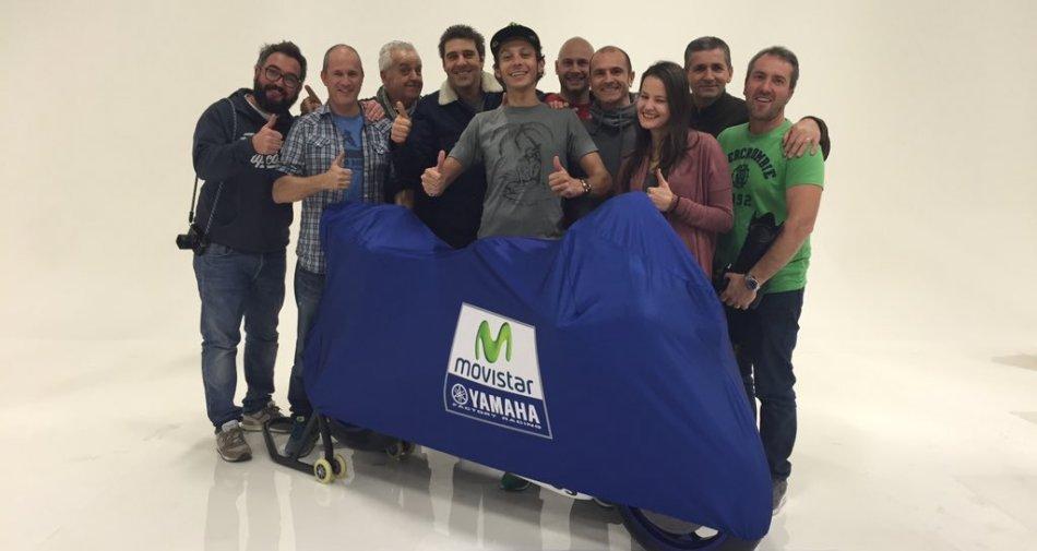 La nuova Yamaha YZR-M1 2016 di Valentino Rossi in diretta su Sky Sport 24 HD