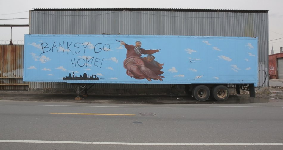 Banksy Does New York, su Sky Arte il film HBO su uno dei progetti più famosi