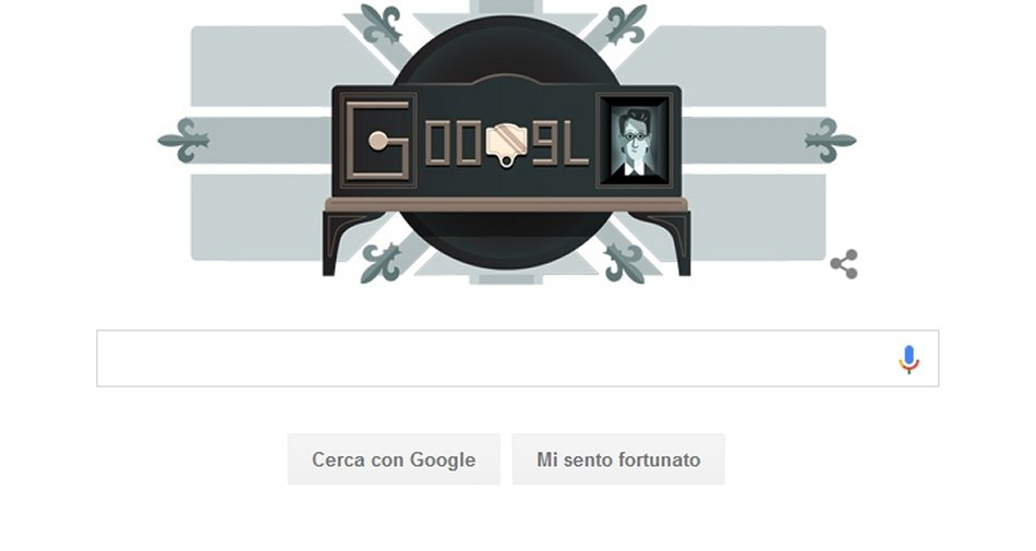 90 anni fa la prima dimostrazione di televisione, Google la festeggia con un doogle