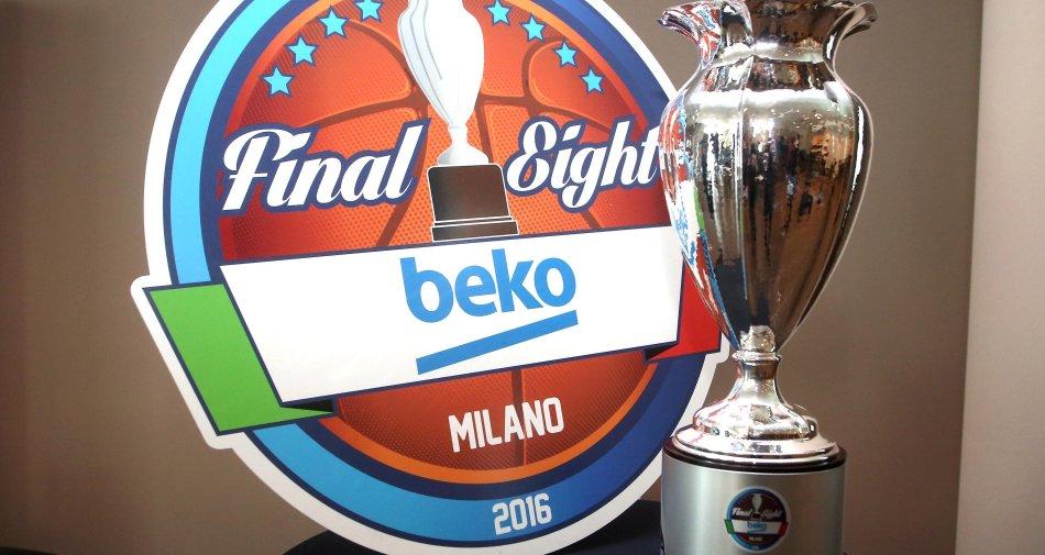 Basket, Beko Final Eight Coppa Italia 2016: 7 gare in diretta esclusiva su Rai Sport