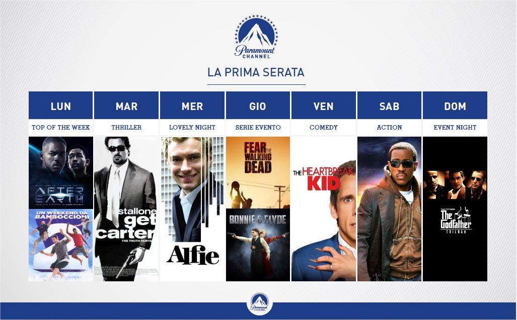 Paramount Channel Italia dal 27 Febbraio, sul nuovo canale Viacom in chiaro film e serie tv
