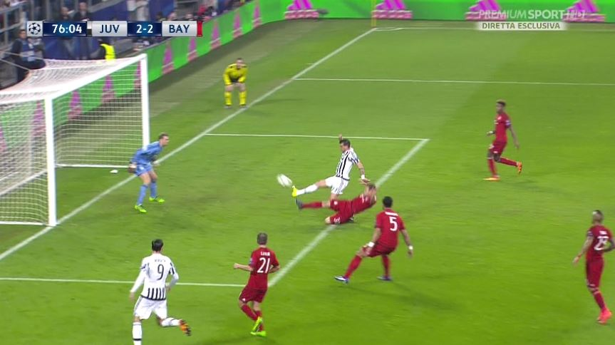 Champions, Juventus-Bayern porta il record stagionale a Premium Sport HD