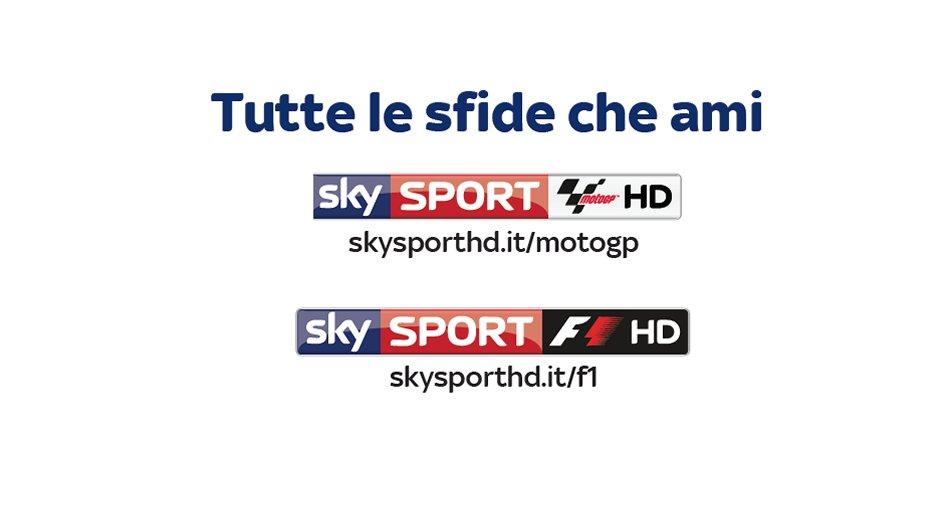#SkyMotori, oggi la presentazione stagione 2016 di Sky Sport F1 e Sky Sport MotoGP HD