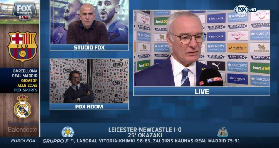 La primavera di Fox Sports con il calcio estero ma anche sport USA, Eurolega e volley