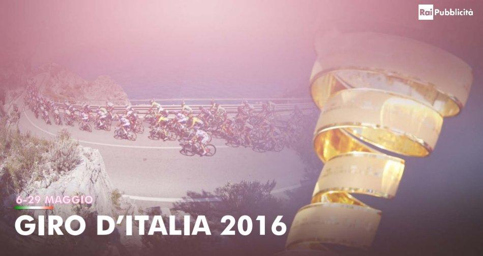 Rai Pubblicità presenta l'offerta commerciale per la 99° edizione del Giro d'Italia