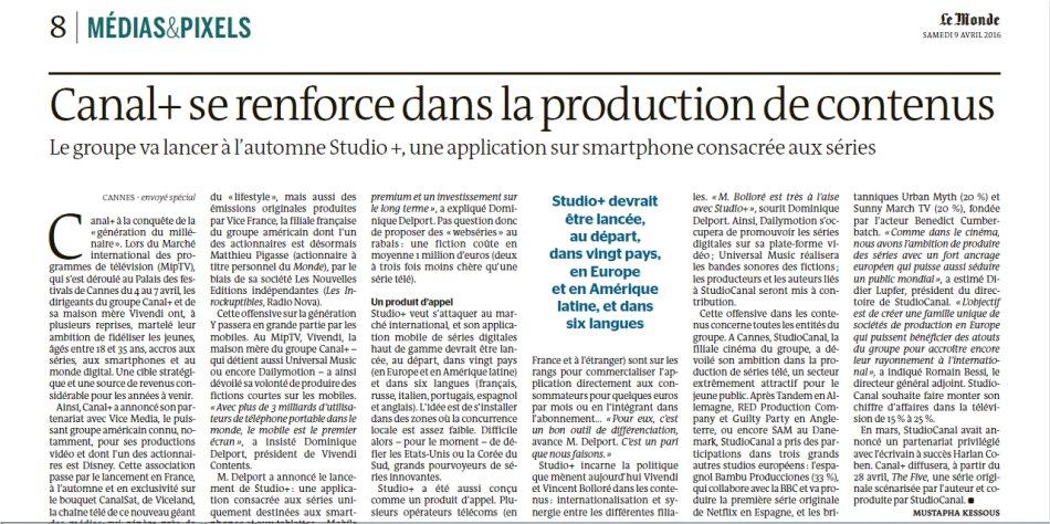 Mediaset, il giornale francese Le Monde