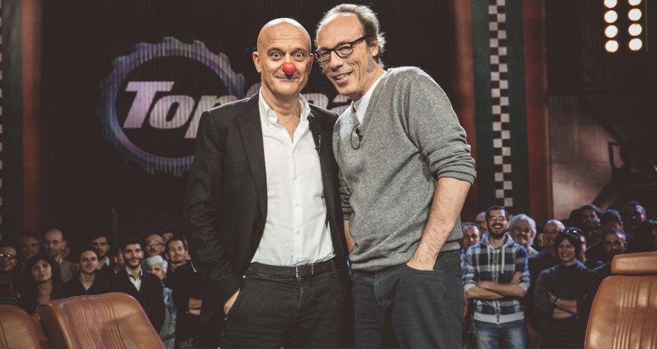 Claudio Bisio ospite della 4a puntata di Top Gear Italia su Sky Sport 1 HD e Sky Uno HD
