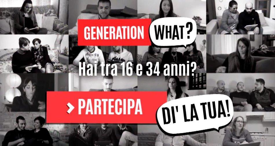 Rai Generation Watch, progetto per conoscere i giovani europei e per capire meglio il futuro