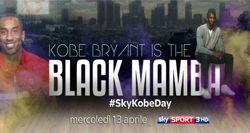 #SkyKobeDay, su Sky Sport 3 HD programmazione dedicata al mito Kobe Bryant