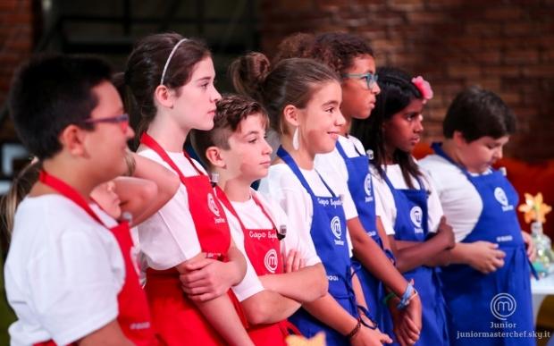 #JrMasterchef Italia, su Sky Uno prova dopo prova i piccoli chef a metà del percorso