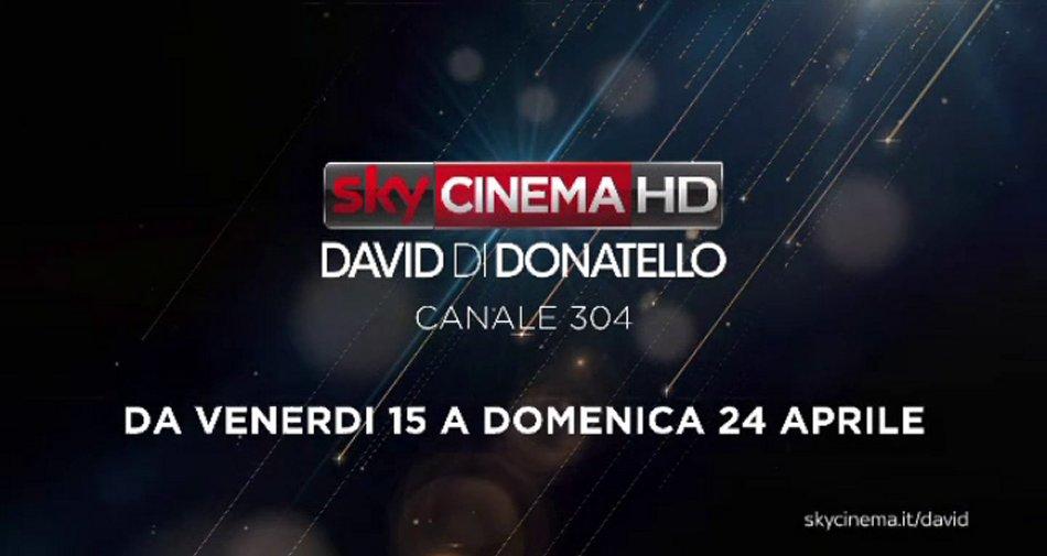 Sky Cinema David Di Donatello al via il canale dedicato in attesa della cerimonia esclusiva