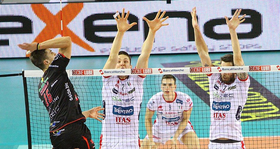 Civitanova e Trentino su Fox Sports HD verso la finale Champions Volley Maschile
