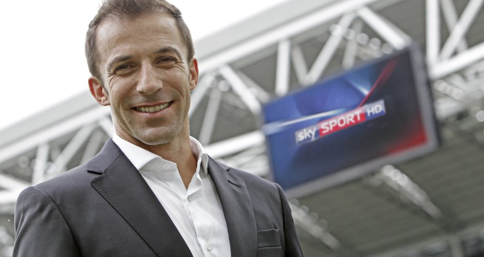Sky Evening News festeggia con Alessandro Del Piero il traguardo delle 500 uscite