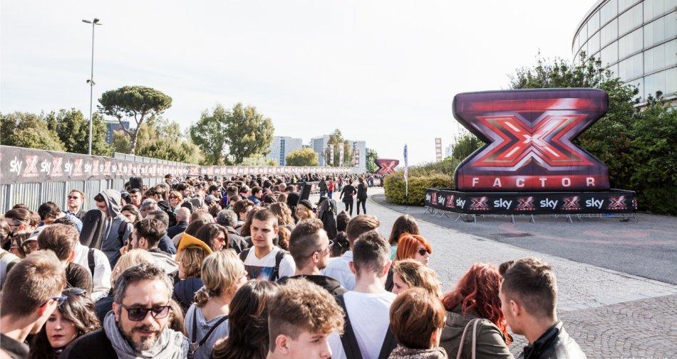 I casting di #XF10 partono da Roma con 7 mila presenze nel primo giorno