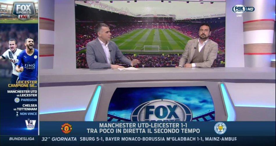 Manchester United-Leicester, successo di ascolti per Fox Sports. Già stasera il titolo?