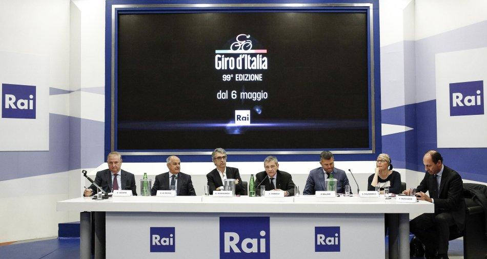 Presentata l'offerta editoriale di Rai Sport per il Giro d'Italia 2016