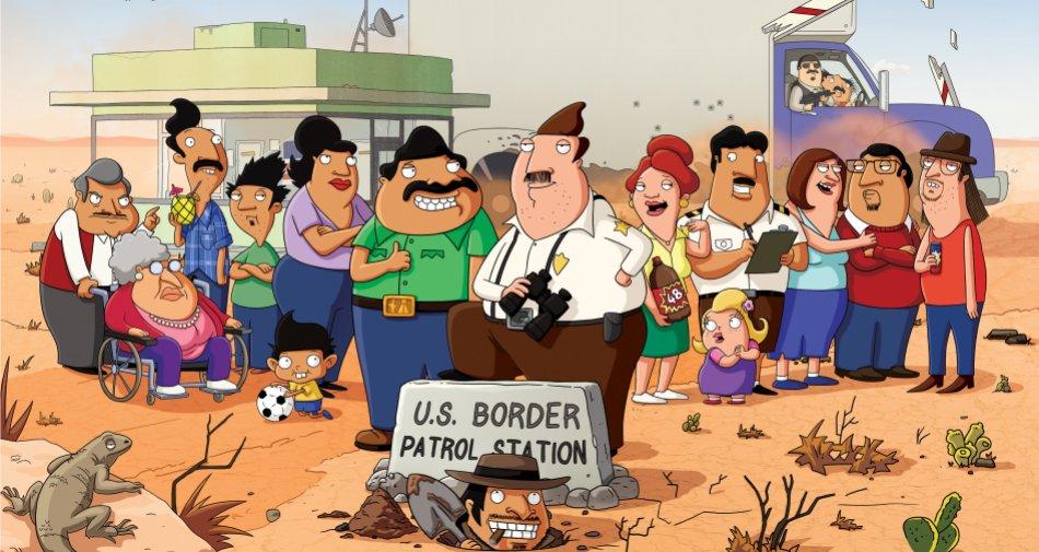 Bordertown, arriva stasera su Fox Animation il cartoon anti immigrati in stile Trump