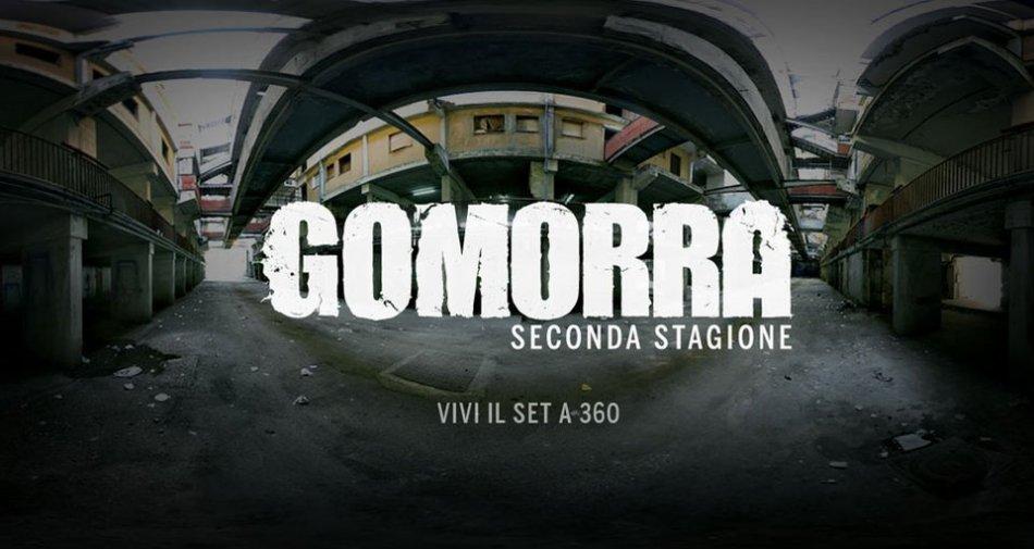 Esperienza web immersiva a 360° sul set di Gomorra grazie a Sky Atlantic e Cattleya