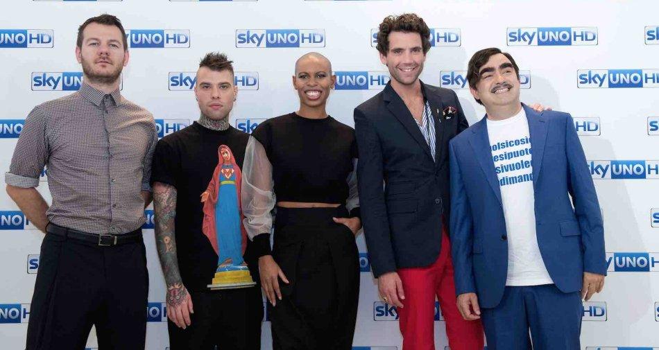 X Factor 2016, nuovi 3 giudici su 4: resta Fedez. Dopo Mika anche Elio e Skin dicono no