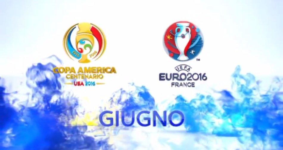 #SkyEuro2016 e #SkyCopa100, oggi a Roma Sky Sport accende le notti d'estate