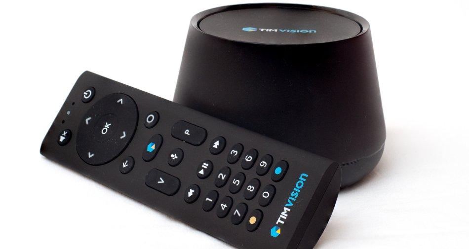 TIM lancia il nuovo decoder TIMvision con il sistema Android TV