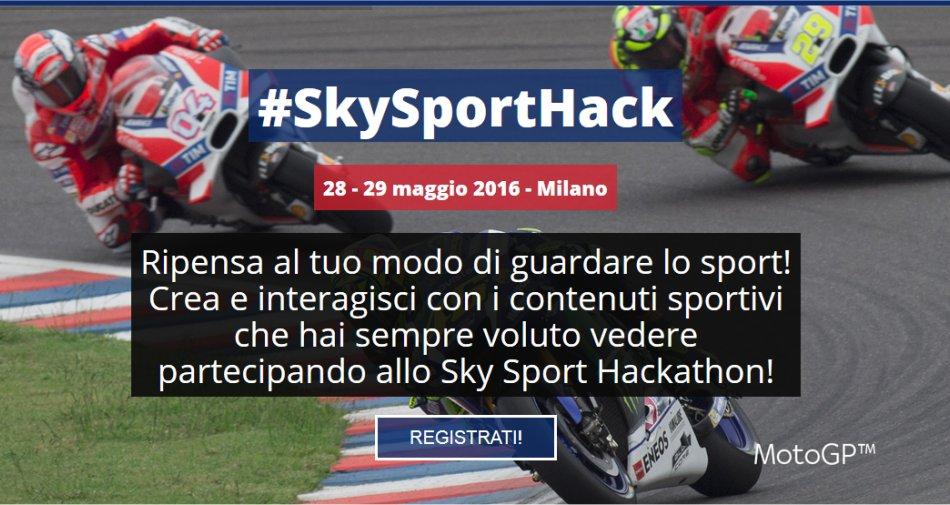#SkySportHackathon, sfida per innovare le modalità di fruizione del contenuto sportivo