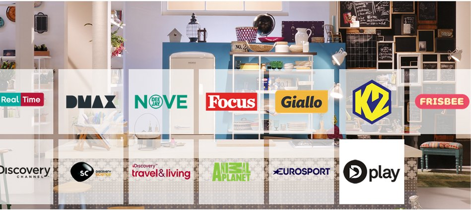Partnership sui contenuti, i canali free Discovery Italia saranno disponibili sulla Vodafone TV