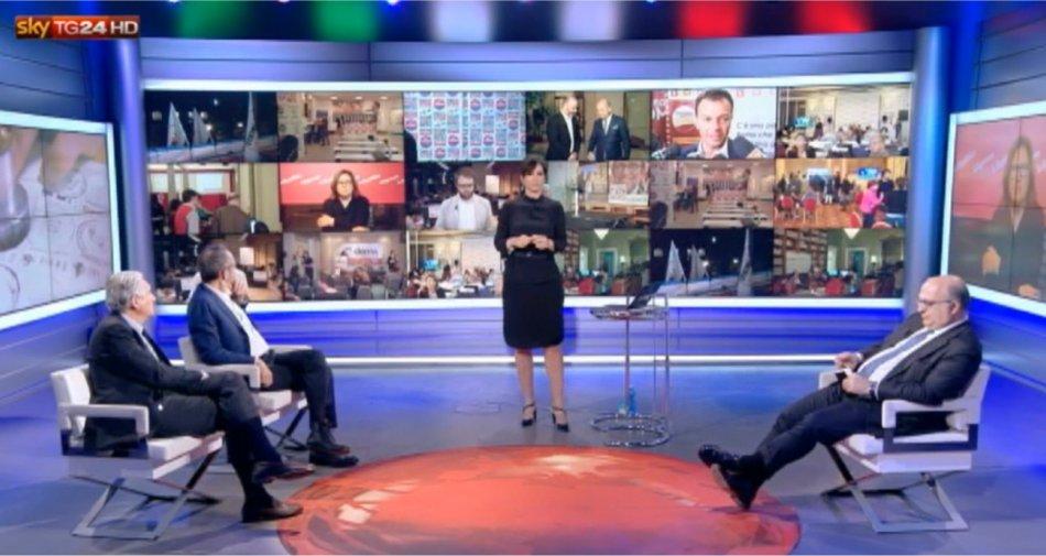 Sky TG24 si conferma primo canale all news italiano per la maratona elettorale #CittaAlVoto
