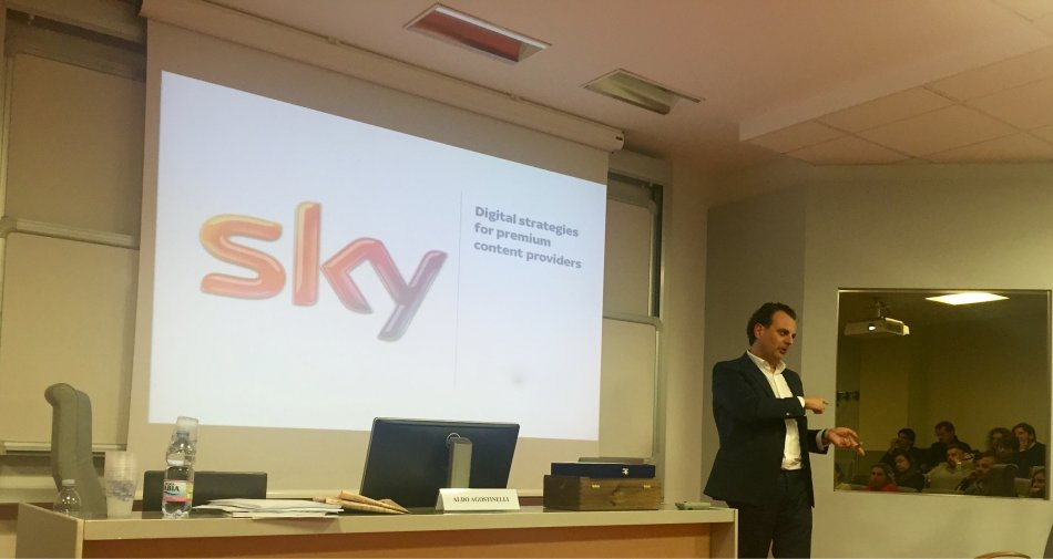 Sky Italia promuove Aldo Agostinelli nuovo Digital Officer